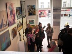 Intérieur de la Galerie à Berlin