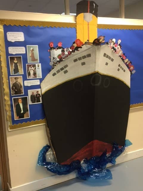 A Titanic Model!…Near, far, wherever you are!