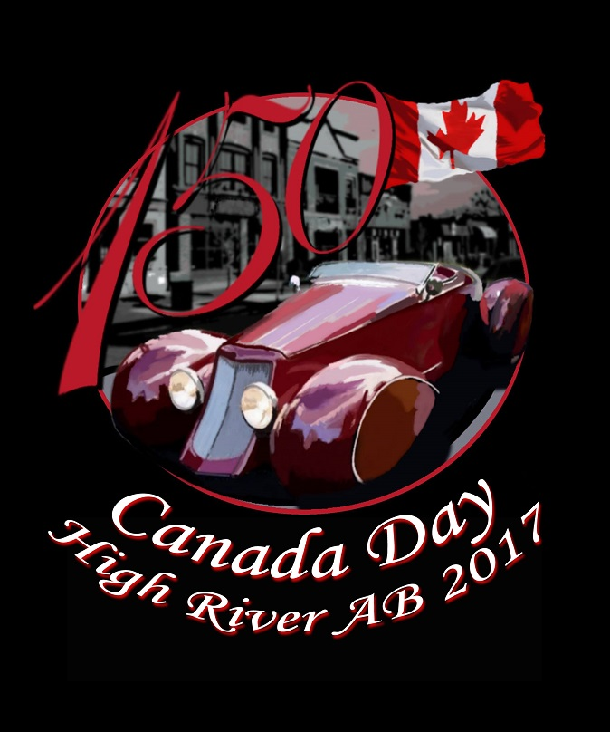 2017 Canada Day and Show Poster Samples - River City Classics Car Club