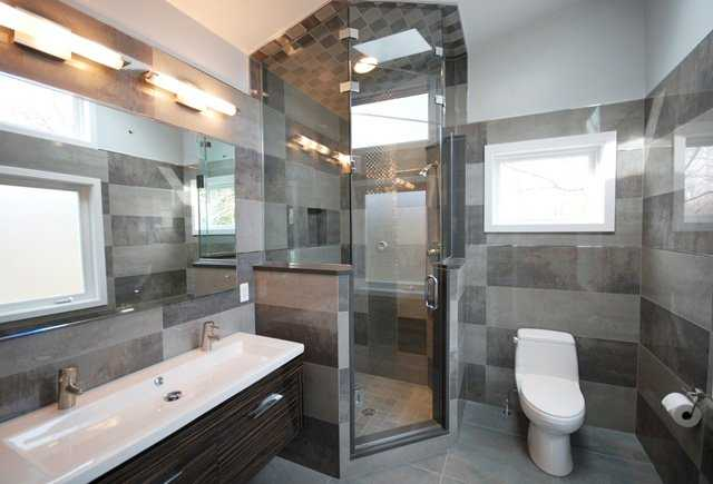 Modern Bathroom Mirrors Bathroom Shower Design For Awkward Spaces In Md, Dc, Va