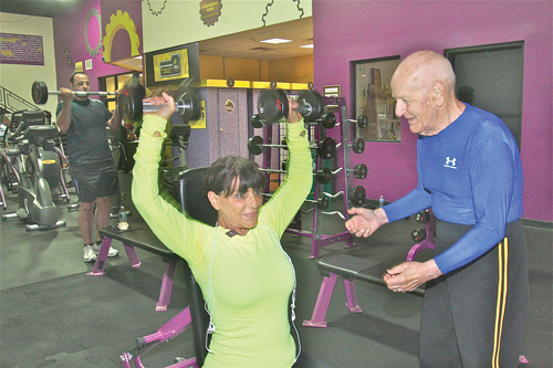 Meet Wally Smith, an 85-year-old personal trainer - Suffolk Times
