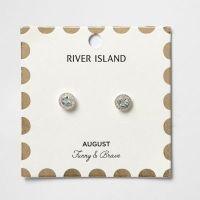 Green August birthstone stud earrings - Earrings - Jewelry ...
