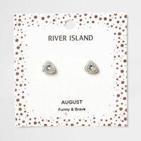 Green gem August birthstone stud earrings - Jewellery ...