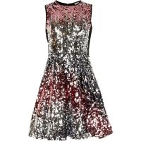 Girls pink and silver ombre sequin dress - Dresses - Sale ...