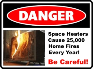 How To Use A Space Heater Safely