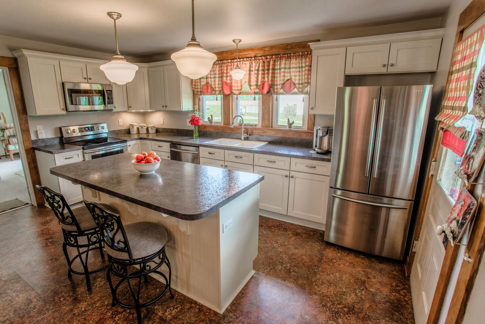 1900 Farmhouse Remodel Clarks Hill Farmhouse Kitchen Remodel Riverside Construction