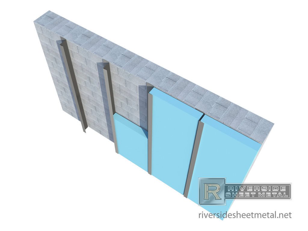 Rigid Insulation Types Custom Z Furring Channel For Insulation Masonry Metal