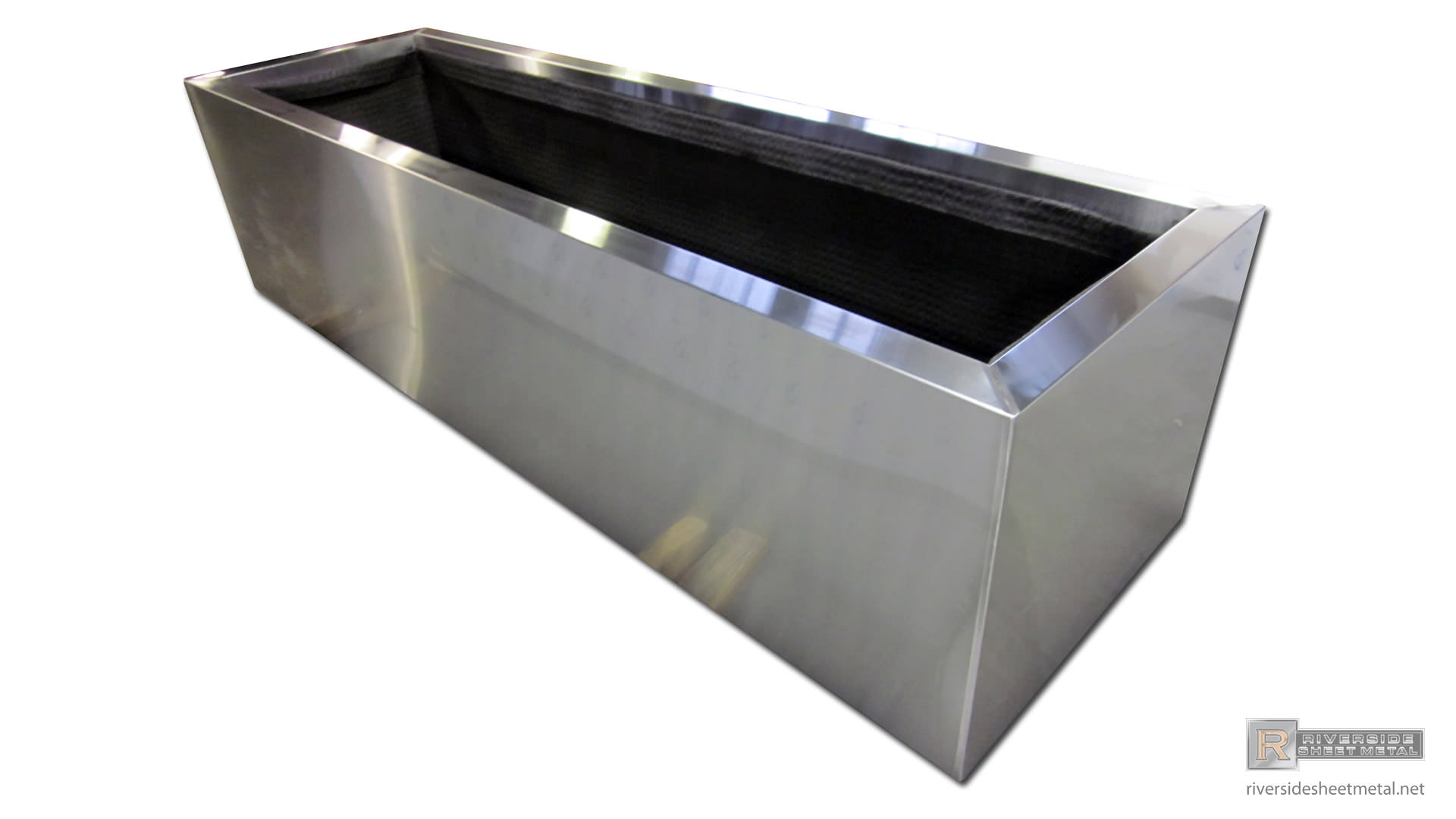 Metal Planter Boxes Planters Window And Flower Boxes Copper Stainless Steel