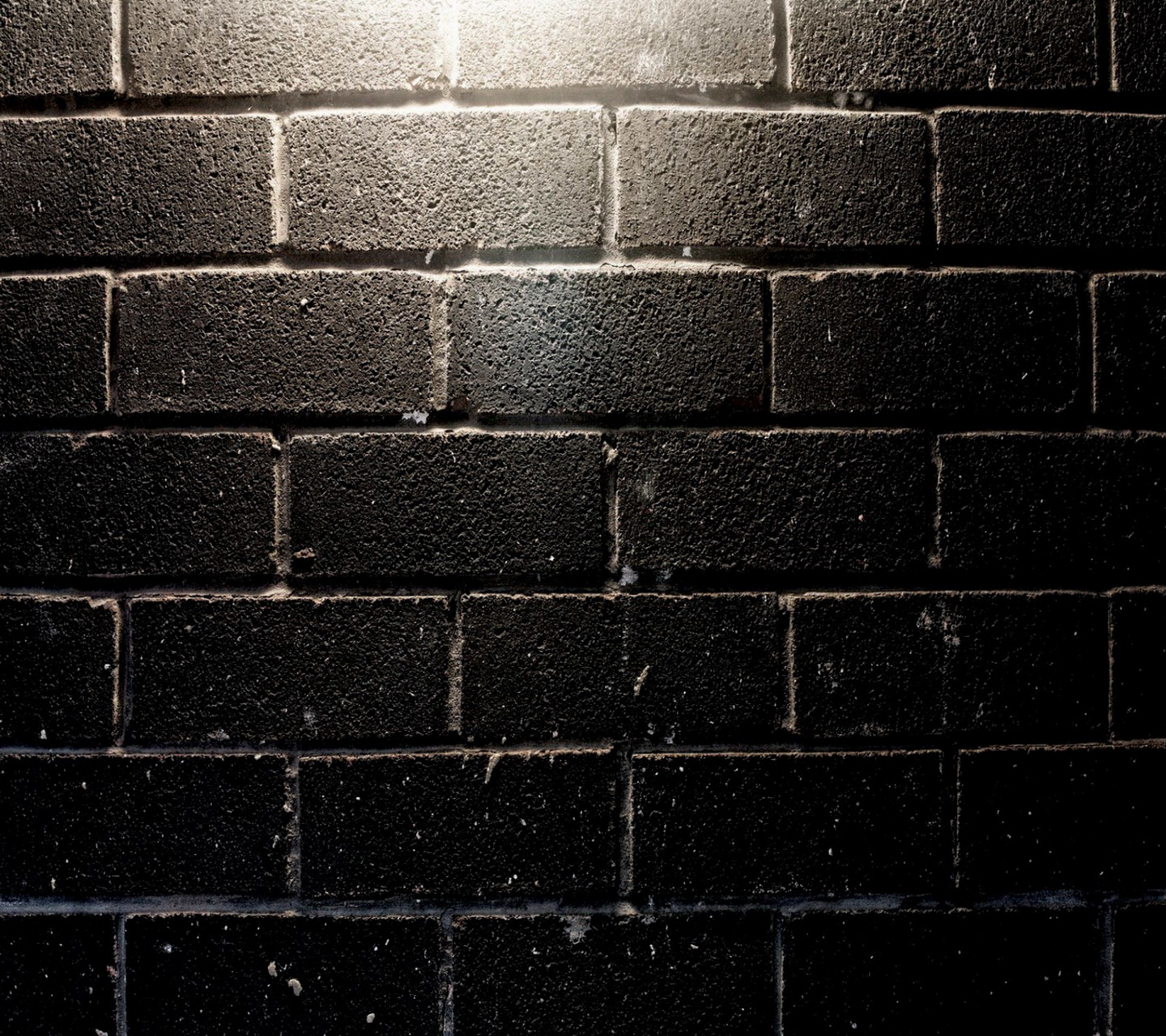 Black Brick Wall Living In Shadows Rivers Of Grue