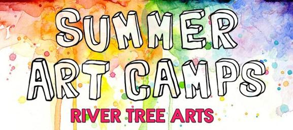Summer Art Camps Banner