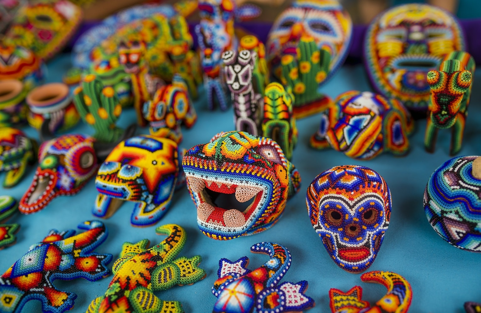 Arte Huichol Mexico Huichol Indian Village Tour Riviera Nayarit Adventures