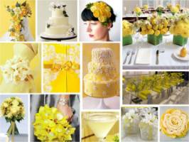 Yellow Wedding Mes And Ideas