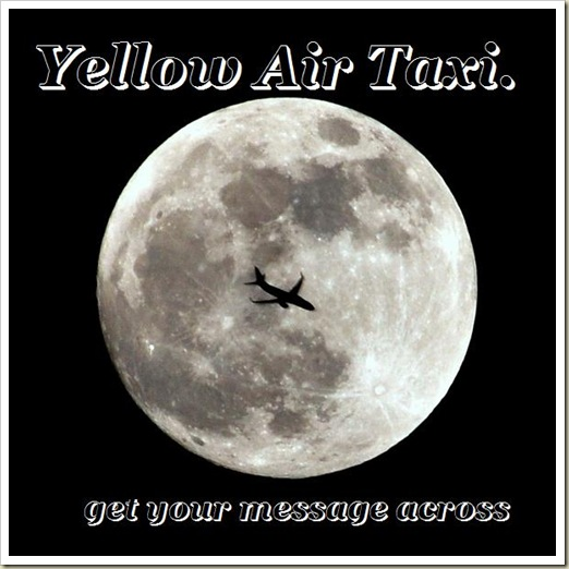 yellow-air-taxi-get-your-message-across