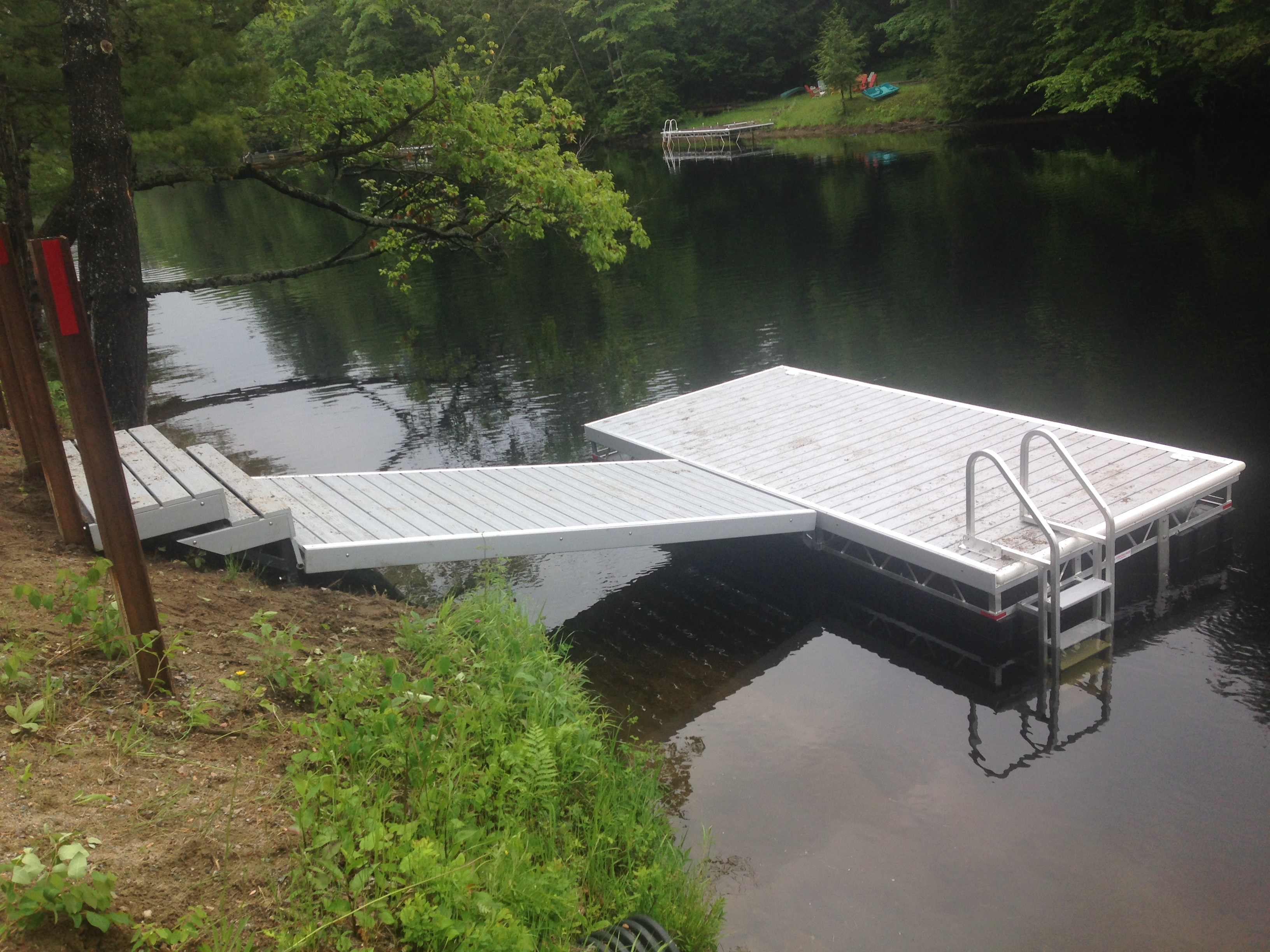 Dock Floats For Sale Aluminum Floating Truss Docks Waterfront Products R J Machine