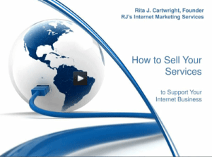 how to sell your services webinar