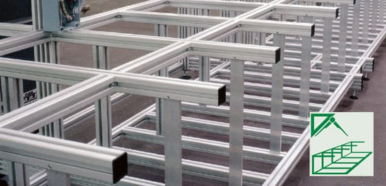 Tisch 80x80 Aluminium Profile Systems, Assembly Of Aluminium Profiles