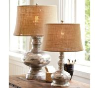 Antique Mercury Glass Table & Bedside Lamps | Pottery Barn