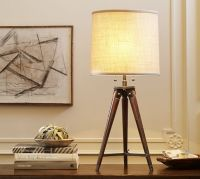 Gibson Tripod Table Lamp | Pottery Barn
