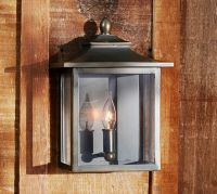 Classic Indoor/Outdoor Sconce   Pottery Barn