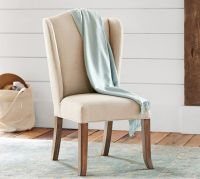Catalano Wingback Desk Chair | Pottery Barn
