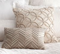 Embellished Beaded Pillow Covers | Pottery Barn