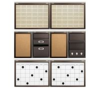 "Daily System 48"" Wall Organizing Sets 
