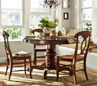 Tivoli Fixed Pedestal Table & Napoleon Chair 5-Piece ...