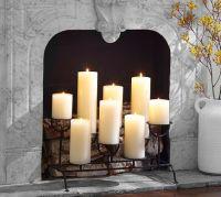 Fireplace Candleholder   Pottery Barn