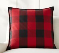 Buffalo Check Plaid Pillow Cover | Pottery Barn