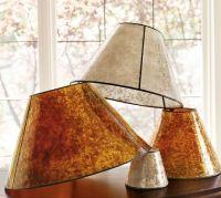PB Basic Mica Lamp Shade   Pottery Barn
