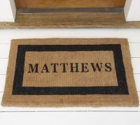 Personalized Doormat | Pottery Barn
