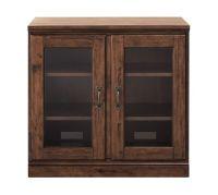 Printer's Double Glass Door Cabinet | Pottery Barn