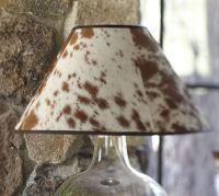 PB Basic Cowhide Lamp Shade | Pottery Barn
