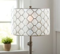 Capiz Lamp Shade | Pottery Barn