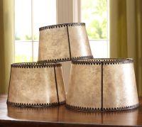 Filigree Mica Lamp Shade   Pottery Barn
