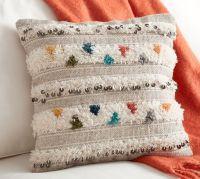 Lina Moroccan Wedding Blanket Pillow Cover | Pottery Barn