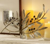 Metal Olive Branch Wall Art | Pottery Barn