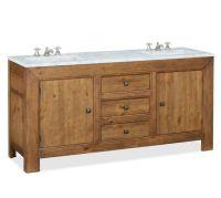 Stella Double Sink Console | Pottery Barn