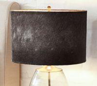 Rhea Cow Hide Lamp Shade | Pottery Barn