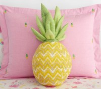 Pineapple Shaped Decorative Pillow | Pottery Barn Kids