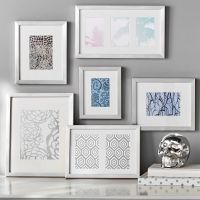 Gallery Frames, Set of 6, Silver | PBteen