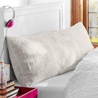 Faux Fur Sherpa Body Pillow Cover | PBteen