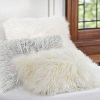 Mongolian Fur Pillow Cover   PBteen