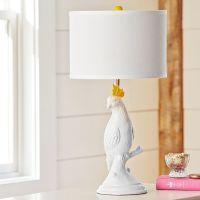 Parakeet Ceramic Table Lamp | PBteen