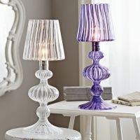 Reagan Glass Table Lamp | PBteen