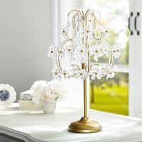 The Emily & Meritt Chandelier Table Lamp | PBteen