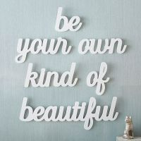Be Your Own Kind of Beautiful Wall Art | PBteen