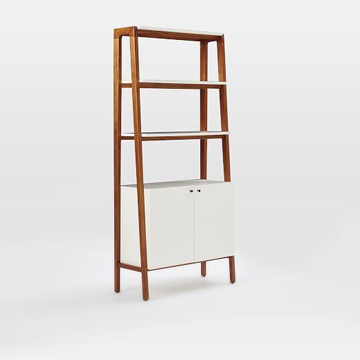 Modern Cabinet Bookcase West Elm