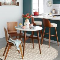 Reeve Mid-Century Bistro Table | west elm
