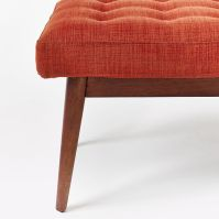 Mid-Century Upholstered Bench | west elm